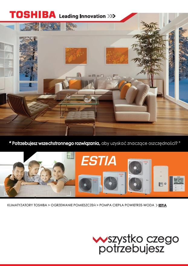 Pompa Ciepła ESTIA Seria 5 broszura
